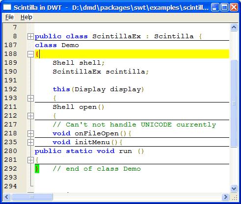Scintilla 4.2.0 full